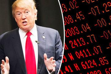 Donanl Trump: Bong bóng đang phình trên thị trường chứng khoán