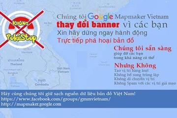 Người chơi Pokemon Go phá hoại nghiêm trọng dữ liệu Google Map Việt