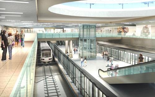 6.865 tỷ đồng xây Trung tâm thương mại ngầm Bến Thành dưới đường Lê Lợi