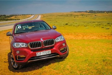Coupe hạng sang BMW X6 35i gần 3,7 tỷ tại Việt Nam