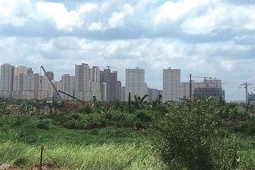 """Khu đô thị mới Thủ Thiêm, TP.HCM: Thành phố """"hụt hơi"""", đại gia giành đất vàng quá dễ!"""