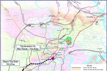 Sẽ kéo dài tuyến metro 3a đến TP Tân An tỉnh Long An