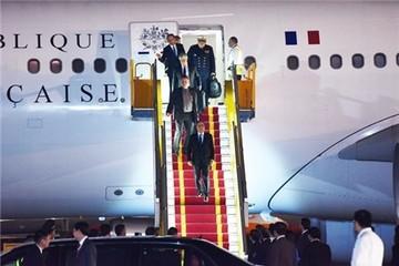 Một ngày của Tổng thống Pháp tại Hà Nội