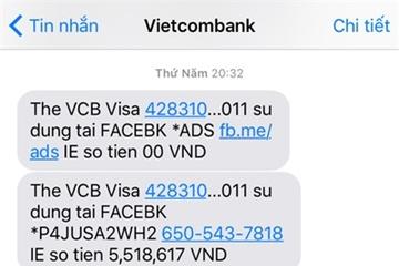 Khách báo mất hơn 22 triệu đồng trong tài khoản ngân hàng Vietcombank