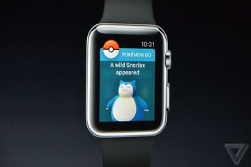 Apple Watch mới có thể chơi Pokemon Go, giá từ 8,2 triệu đồng