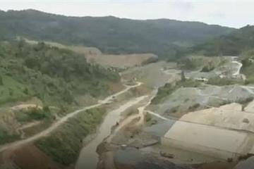 Vỡ đường ống thủy điện Sông Bung 2, nhiều công nhân bị cuốn trôi