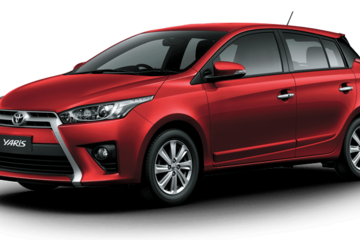 Toyota Yaris 2016 giá thấp nhất 636 triệu đồng tại Việt Nam