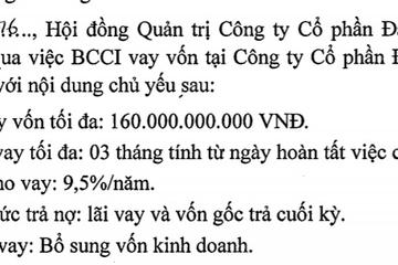 BCI vay Nhà Khang Điền 160 tỷ đồng để làm gì?