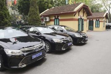 Bộ Tài chính sẽ áp dụng chế độ khoán kinh phí sử dụng xe công