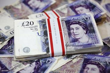 Đồng Bảng Anh xuống mức đáy trong 3 năm