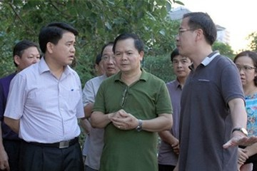 Chủ tịch Hà Nội: Hồ Tây không còn cá chết từ tối qua