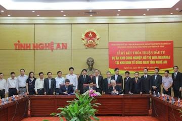 Liên doanh Hemaraj – Cienco 4 đầu tư 1 tỷ USD vào Nghệ An
