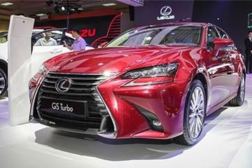 Lexus GS Turbo giá 3,13 tỷ đồng