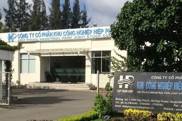 Khu công nghiệp Hiệp Phước trả cổ tức 40% bằng tiền, thực hiện quyền mua cổ phiếu tỷ lệ 30%