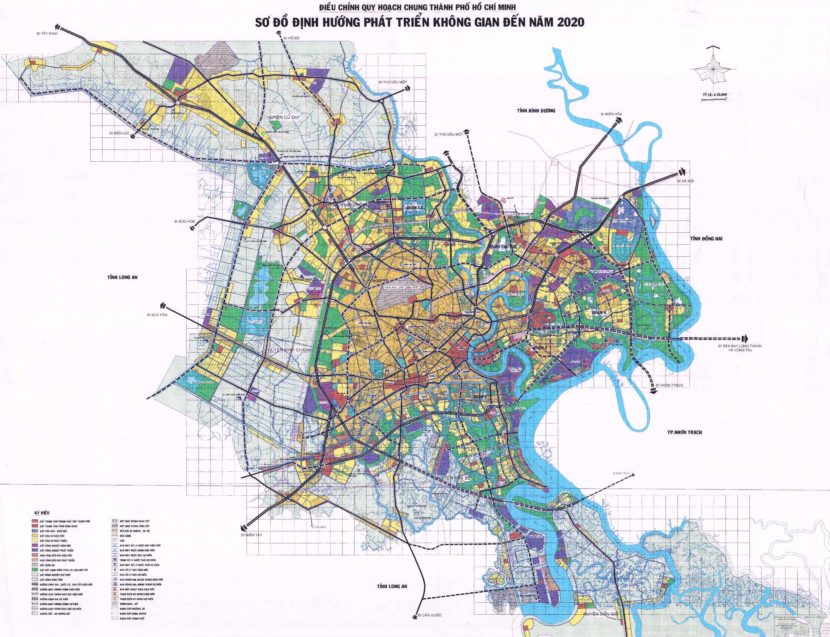TP HCM duyệt và điều chỉnh nhiều quy hoạch quận Thủ Đức, quận 8 và 6