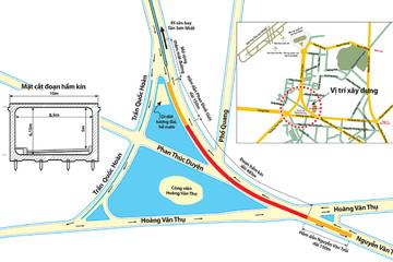 Hưng Thịnh đề xuất ứng trước 370 tỷ đồng xây dựng hầm chui tại nút giao Hoàng Văn Thụ - Nguyễn Văn Trỗi