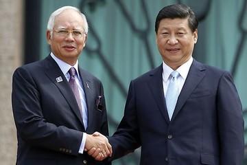 """Sau Philippines, đến lượt Malaysia """"làm thân"""" Trung Quốc?"""