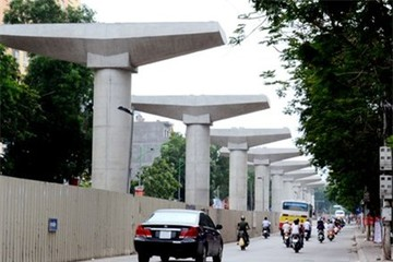 Bổ sung kinh phí hỗ trợ tuyến đường sắt đô thị đoạn Nhổn - Ga Hà Nội