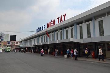 Bến xe Miền Tây mới được xây dựng ở khu E đô thị Nam Sài Gòn