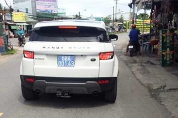Phó chủ tịch tỉnh Kiên Giang đi ôtô Range Rover biển xanh