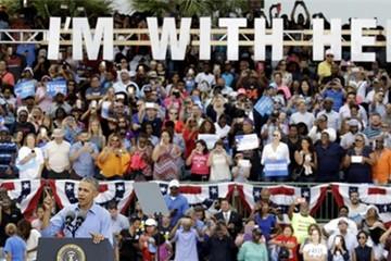 Obama ra đòn với Trump ở bang chiến trường quan trọng nhất