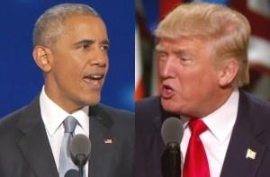 Tổng thống Obama gọi điện chúc mừng và mời Donald Trump đến Nhà Trắng