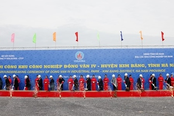 Viglacera khởi công khu công nghiệp 1.910 tỷ đồng tại tỉnh Hà Nam