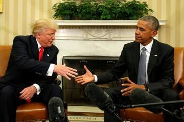 Obama tiếp Trump tại Nhà Trắng, bắt đầu bàn chuyển giao quyền lực