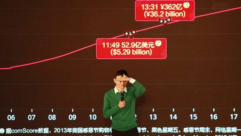 Alibaba thu về 1 tỷ USD trong chưa đầy 5 phút bán hàng
