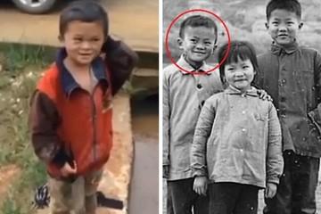 Jack Ma tài trợ toàn bộ học phí cho cậu bé có gương mặt giống mình