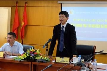 Bộ TN-MT xin nhận mọi hình thức kỷ luật vụ Formosa