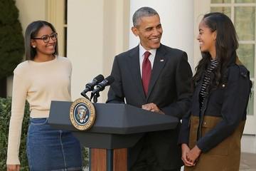 Tiết lộ tâm sự của ông Obama với con gái sau khi Trump đắc cử