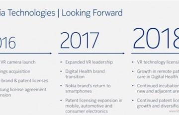 Nokia khẳng định trở lại thị trường smartphone năm 2017