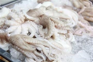 Mực, bạch tuộc Việt Nam xuất sang Hàn Quốc nhiều nhất