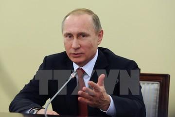 Tổng thống Putin đánh giá kinh tế Nga chuyển biến tích cực