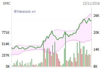 SMC: Dự kiến chào bán riêng lẻ 12,5 triệu cp với giá 18.000 đồng/cp