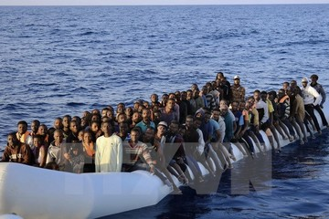Người tị nạn đang trở thành