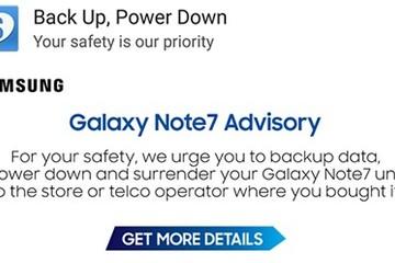 Samsung triệu hồi nhầm Galaxy Note 4 vì chạy phần mềm của Galaxy Note 7