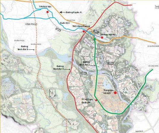 Giao tỉnh Thái Nguyên đầu tư xây dựng đường vành đai 5 vùng Thủ đô Hà Nội