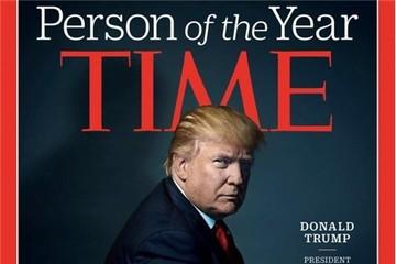 """Tạp chí Time chọn ông Trump là """"Nhân vật của năm"""""""