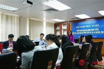 30% dịch vụ công lĩnh vực tư pháp tại 139 xã Hà Nội được thực hiện online