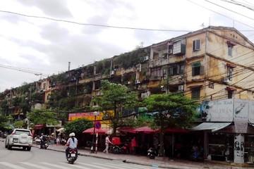 TP Hà Nội sẽ có kế hoạch cải tạo, xây dựng lại chung cư cũ vào cuối tháng 12