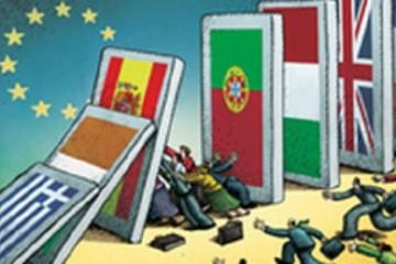 Khủng hoảng khiến các nước châu Âu trở nên ảm đạm