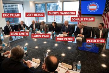 Cuộc gặp hơn 3.000 tỷ USD của Donald Trump và các lãnh đạo công nghệ
