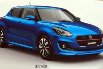 Suzuki Swift thế hệ mới thay đổi hoàn toàn