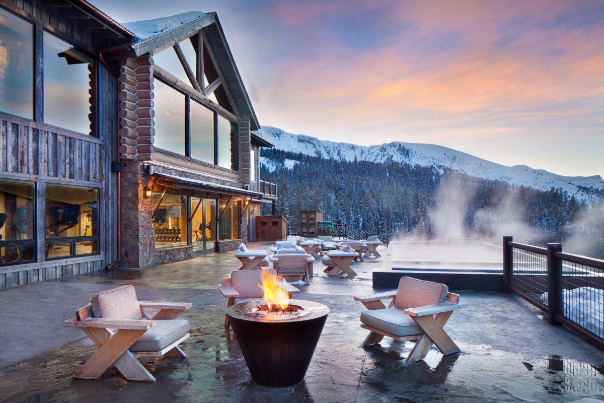 Đến thăm khu trượt tuyết chỉ dành cho người giàu