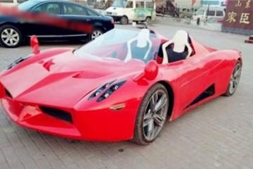 'Siêu xe' điện Trung Quốc giá 5.500 USD