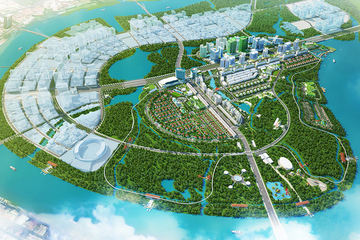 Giao CII đào hồ trung tâm và các kênh mới để chống ngập cho Thủ Thiêm