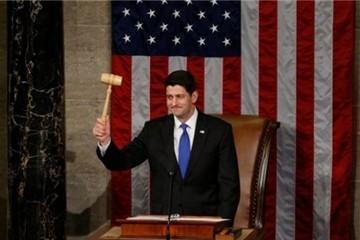 Ông Paul Ryan tái đắc cử chủ tịch Hạ viện Mỹ
