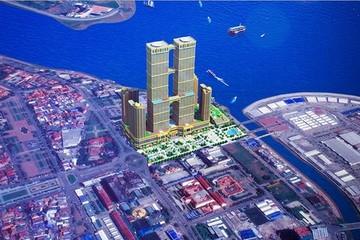 Trung Quốc sắp xây tháp đôi cao nhất thế giới ở Campuchia